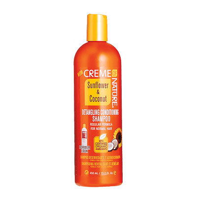 Get Hollywood Hair - Top Products - Creme of Nature Sunflower & Coconut Detangling Conditioning Shampoo