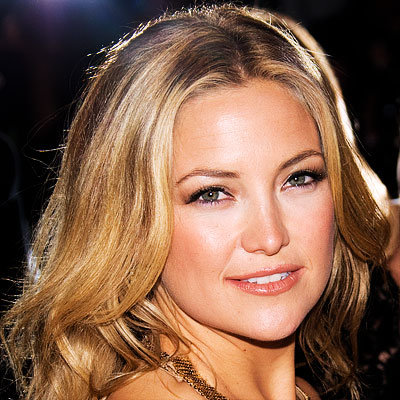 Get Glowing Skin, Coppery Lips, Kate Hudson