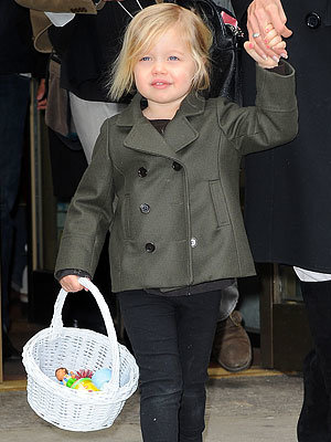 Shiloh Jolie-Pitt, Birthday, Hollywood's Hottest Moms, New York City