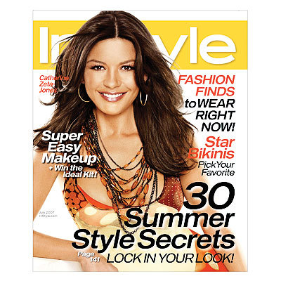 15 Years of InStyle - Favorite Cover - Catherine Zeta-Jones