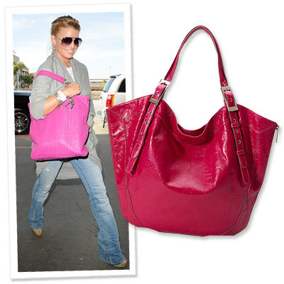 Jessica Simpson - Bold Bag - Airport Style