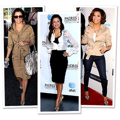 Eva Longoria Parker in YSL - 7 Stars Who Shop Their Closets - Star Style