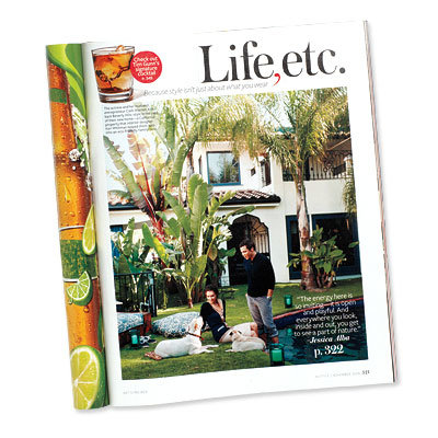 15 Years of InStyle - Stars at Home - Greenest Home - Jessica Alba