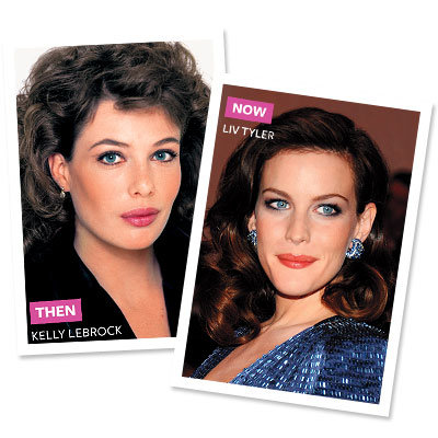 Full-Face Makeup - Eighties - Liv Tyler - Kelly Lebrock