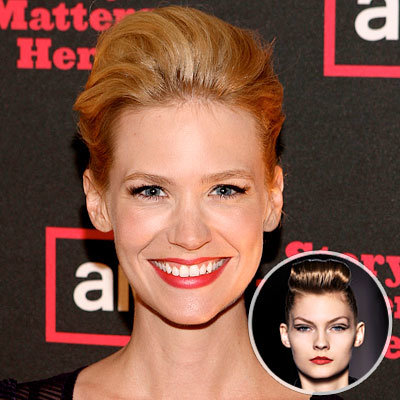 Fall 2009 Beauty Trend - From Runway to Red-Carpet - January Jones