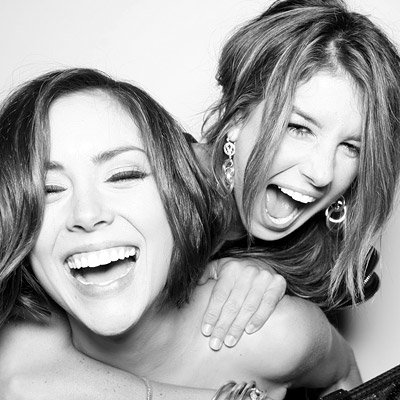 Jessica Stroup and Shenae Grimes - 90210