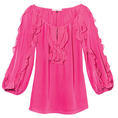 Breast Cancer Awareness - Rebecca Taylor Silk Top