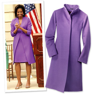 Michelle Obama's Power Dressing - Long Coats - Michelle Obama Style