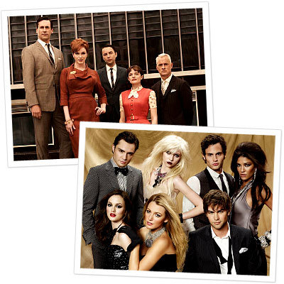Fall TV Showdown Poll - Most Fashionable Cast: Mad Men vs. Gossip Girl