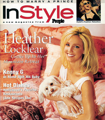 November Anniversary Page - Heather Locklear