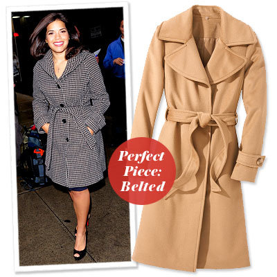 America Ferrera - Find Your Most Flattering Coat - Curvy