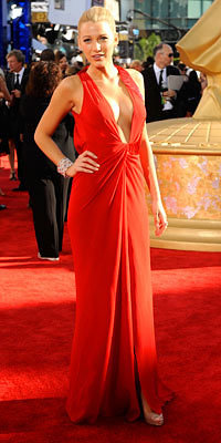 Blake Lively - Emmys - Versace