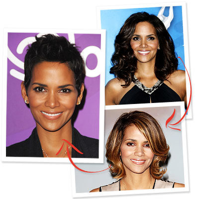halle berry-hair-hair transformation