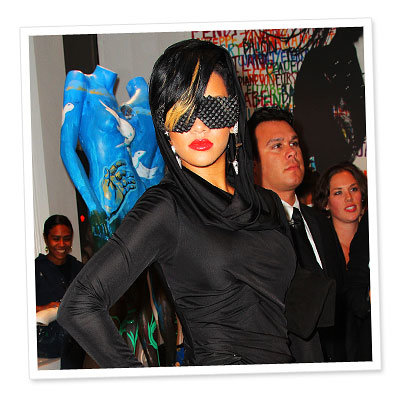 Rihanna in a-morir by Kerin Rose - Most Outrageous Accessories