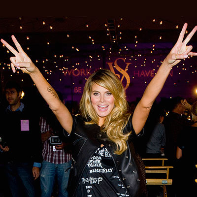 Best of 2009: Top 10 Celebrity Party Playlists - Heidi Klum - The Victoria's Secret Fashion Show After-Party