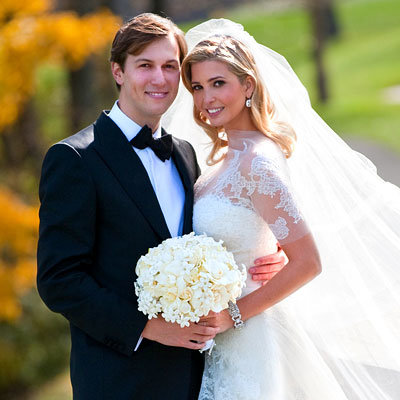 Best Celebrity Weddings of 2009 - Ivanka Trump - Jared Kushner