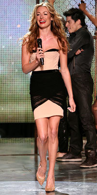 Cat Deeley's So You Think You Can Dance Style - Cat in an Alexander Wang dress