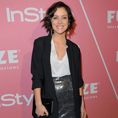 Jessica Stroup in Jenni Kayne and Monroe - 2nd annual Golden Globes Salute to Young Hollywood party - Los Angeles