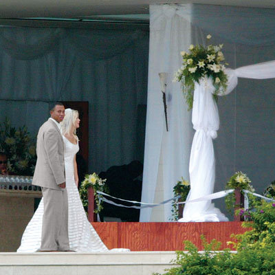 Celebrity Wedding: Tiger Woods and Elin Nordegren