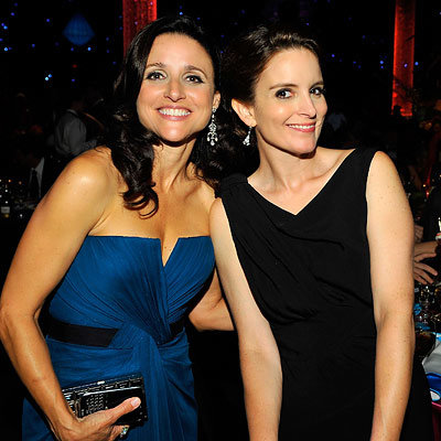 Julia Louis-Dreyfus and Tina Fey - The 2009 Emmy Awards After-Parties