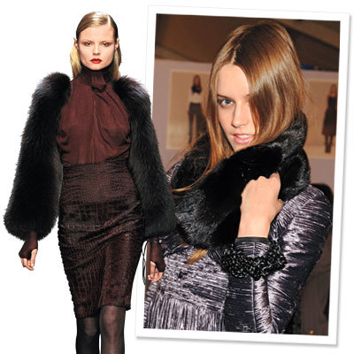 Fall 2009 Fashion Trend - Fur Accents