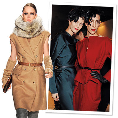 Fall 2009 Fashion Trend - Structured