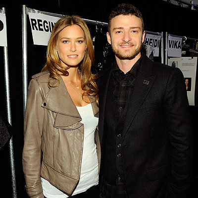 Bar Refaeli, Justin Timberlake, William Rast, NY Fashion Week Day 4