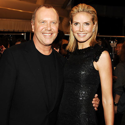 Michael Kors, Heidi Klum, NY Fashion Week Day 6