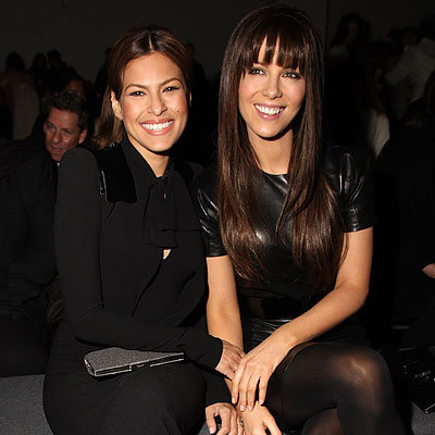 Eva Mendes, Kate Beckinsale, NY Fashion Week Day 7