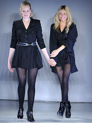 Sienna Miller, Savannah Miller, Twenty8Twelve, London Fashion Week
