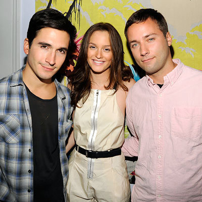 Lazaro Hernandez - Leighton Meester - Jack McCollough - New York Fashion Week Pre-Parties