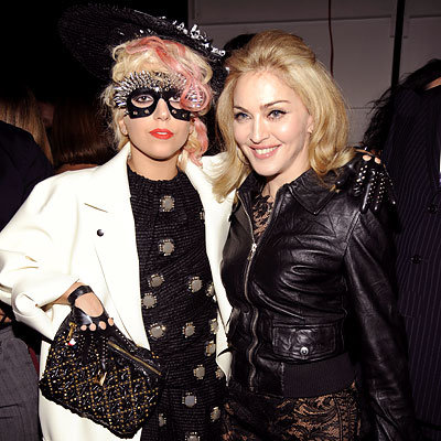 Lady Gaga - Madonna - Marc Jacobs - NY Fashion Week