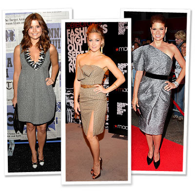 JoAnna Garcia - Kate Hudson - Debra Messing - Anna Sui for Target - Michael Kors - Star Trends - New York Fashion Week - Spring 2010