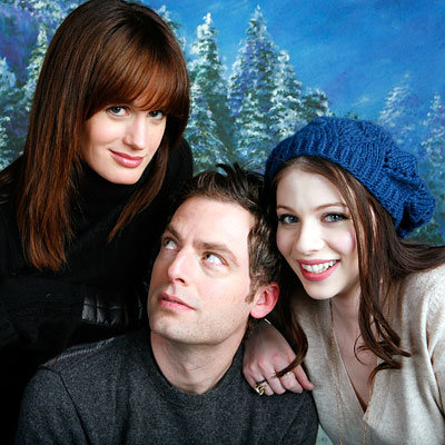 Elisabeth Reaser, Justin Kirk and Michelle Trachtenberg, Against the Current, Sundance Portraits, 2009 Sundance Film Festival