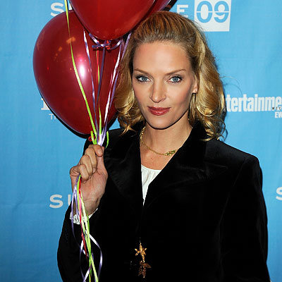 Uma Thurman, Premiere of Motherhood, Red Carpet Report, 2009 Sundance Film Festival