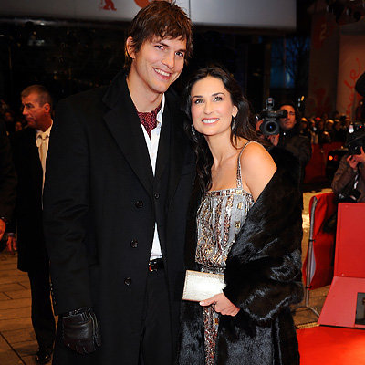 Demi Moore, Ashton Kutcher, Happy Tears premiere, 2009 Berlin Film Festival