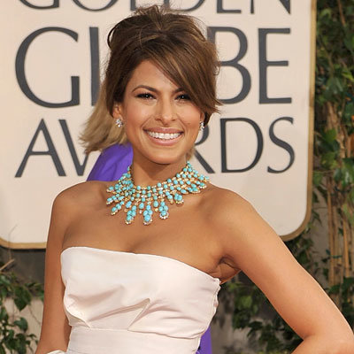 Best of Golden Globes 2009, Eva Mendes, Van Cleef & Arpels