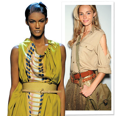 Spring Trends 2009, Clothes We Love, Safari