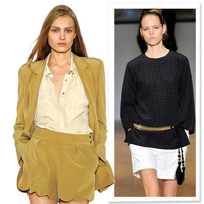 Spring Trends 2009, Clothes We Love, Soft Shorts