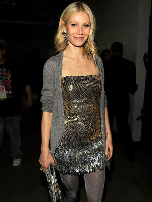 Gwyneth Paltrow in Versace, 2009 Grammy Awards, Grammys