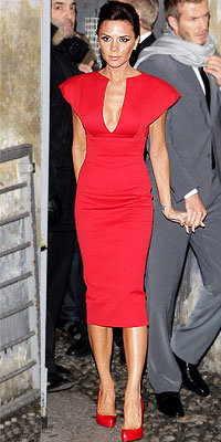 Victoria Beckham in Victoria Beckham Collection
