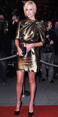 Charlize Theron in Lanvin