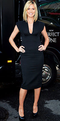 Heidi Klum in Victoria Beckham Collection