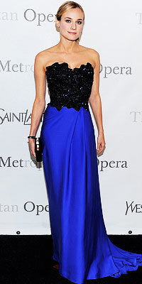 Diane Kruger in Yves Saint Laurent