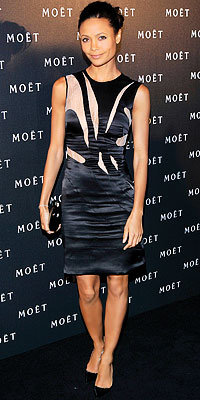 Thandie Newton in Preen