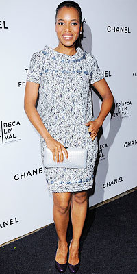 Kerry Washington in Chanel
