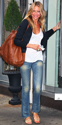 Cameron Diaz in Alexander Wang