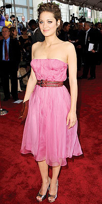 Marion Cotillard in Christian Dior - Look of the Day - Fashion