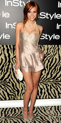 Ashlee Simpson in Jill Stuart