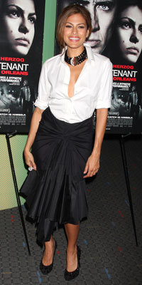 Eva Mendes in Donna Karan and House of Lavande